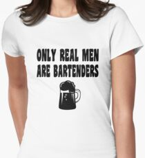 Bartender Womens Fitted T-Shirt