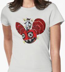 destruction  Women's Fitted T-Shirt