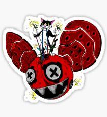 destruction  Sticker