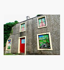 Painted Windows, Donegal, Ireland Photographic Print