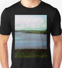 A loch in Donegal, Ireland Unisex T-Shirt