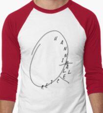 Hannibal Lecter ; Will's clock Men's Baseball ¾ T-Shirt