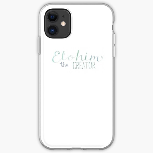 Elohim iPhone Soft Case