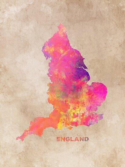England map #england #map #englandmap by JBJart