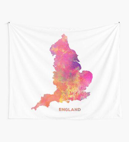 England map #england #map #englandmap Wall Tapestry