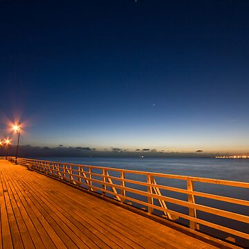Pre-Dawn Pier by dadegroot