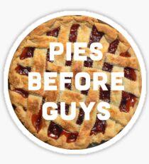 Pies before guys  Sticker