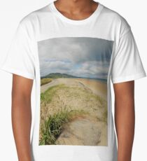 Lisfannon Beach Donegal..........................Ireland Long T-Shirt