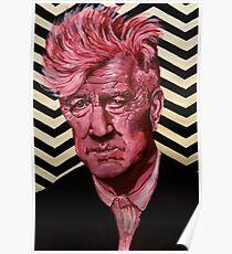 David Lynch Acrylic painting Poster