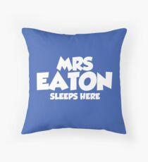 Mrs Eaton Throw Pillow