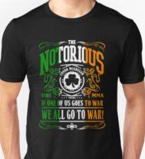 Conor McGregor Typograph 2 Unisex T-Shirt