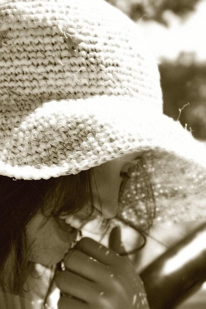 Hiding the smile by Deidre Cripwell