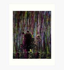 """""""Lunar Rain"""""""" Art Print"""