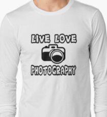Photography T Shirt  Long Sleeve T-Shirt