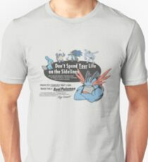 Pokemon - Mega Swampert - Get Buff Advert Unisex T-Shirt
