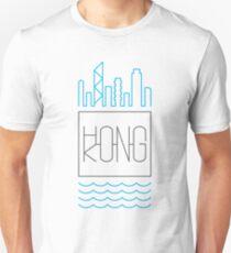 Hong Kong - City Skyline colour Unisex T-Shirt