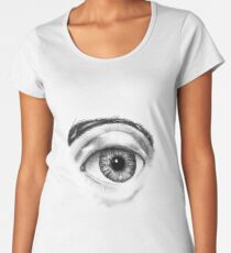 EYE OF A BEHOLDER Women's Premium T-Shirt