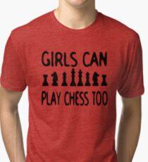 Chess T shirt  Tri-blend T-Shirt