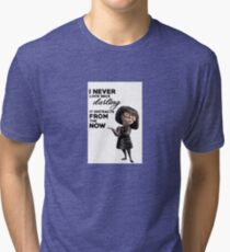 Edna Mode The Incredibles Tri-blend T-Shirt
