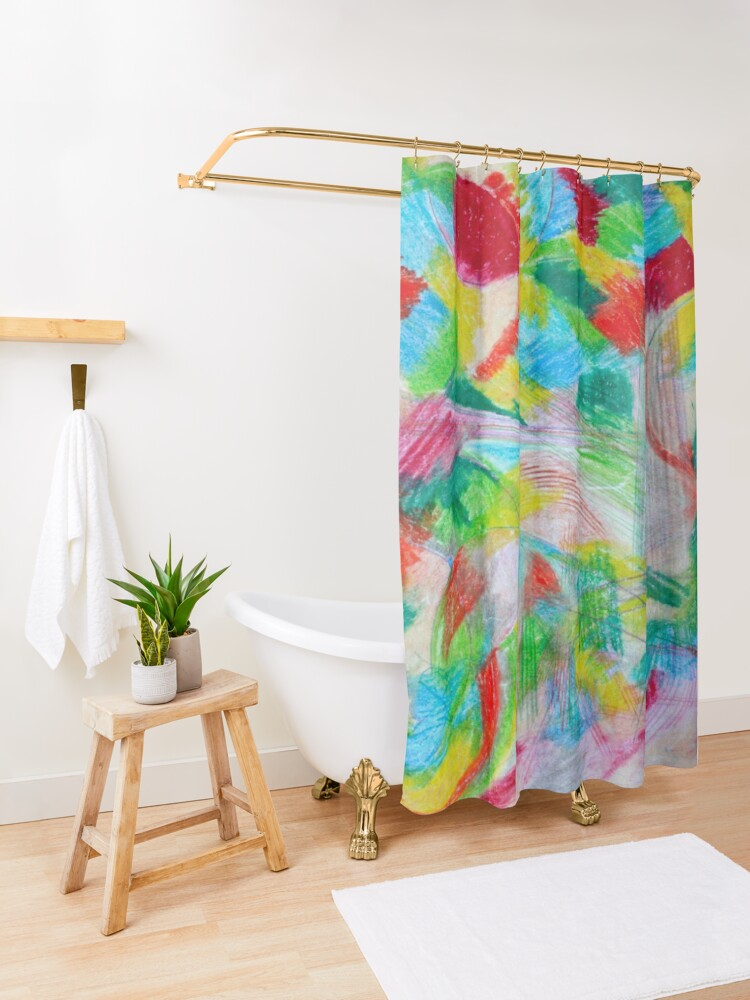 Alternate view of Dress Up Shower Curtain