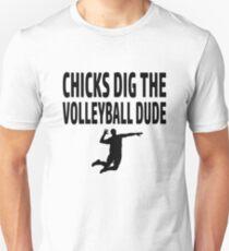 Volleyball T Shirt  Unisex T-Shirt