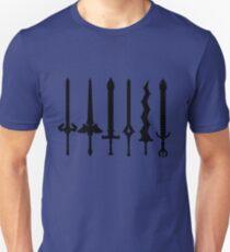 Fire Emblem : Legendary Swords (Black) Unisex T-Shirt