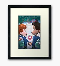 In a Heartbeat - Official Film Poster Framed Print