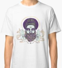 Flower Beard || Psychedelic Illustration by Chrysta Kay Classic T-Shirt