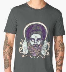 Flower Beard || Psychedelic Illustration by Chrysta Kay Men's Premium T-Shirt