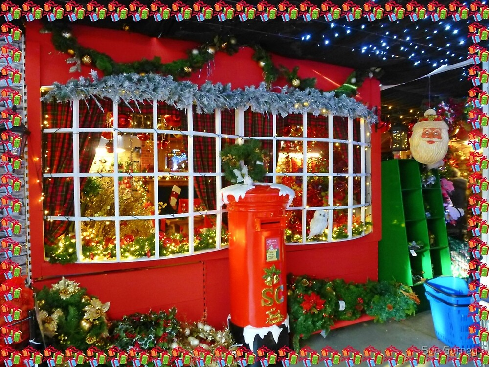 A Christmas Display by Sue Gurney