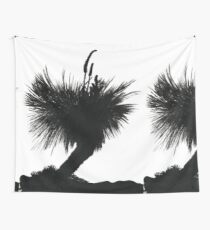 Silhouette Tree Wall Tapestry