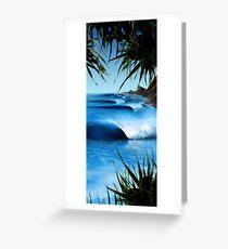 Hawaii Blue Greeting Card