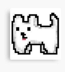 Pixel Doggo Canvas Print