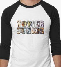 Tower Junkie Men's Baseball ¾ T-Shirt
