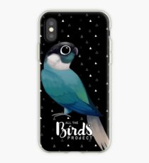 Green cheek turquoise phone iPhone Case