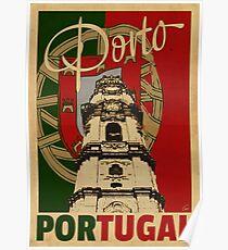 PORTO PORTUGAL Poster