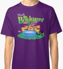 Backyard Vacation Classic T-Shirt