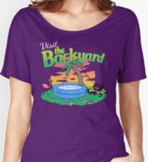 Backyard Vacation Women's Relaxed Fit T-Shirt