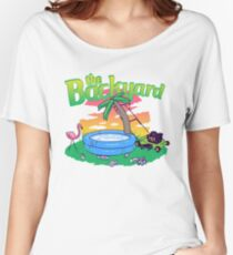 Backyard Vacation Women's Relaxed Fit T-Shirt