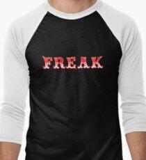FREAK OUT - Art By Kev G Men's Baseball ¾ T-Shirt