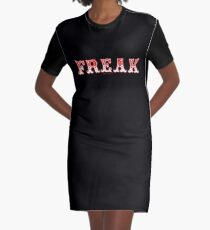 FREAK OUT - Art By Kev G Graphic T-Shirt Dress