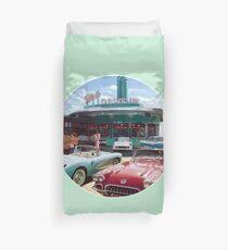 50s Drive-In Diner Duvet Cover