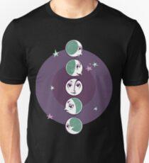 Waxing and waning moons Unisex T-Shirt