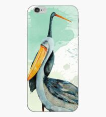 Percy the Pelican hangs out with friends iPhone Case