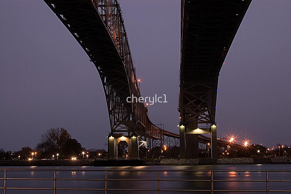 Blue Water Bridges by cherylc1