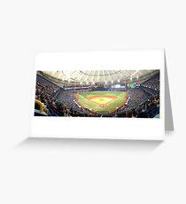 Tampa Bay Rays Tropicana Field Greeting Card