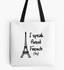 Fluent French Tote Bag