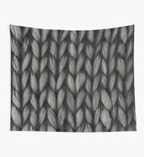 Knitted Yarn Wall Tapestry