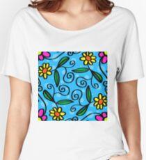 Summer Garden Women's Relaxed Fit T-Shirt
