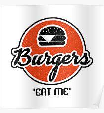 Basket Burgers Poster